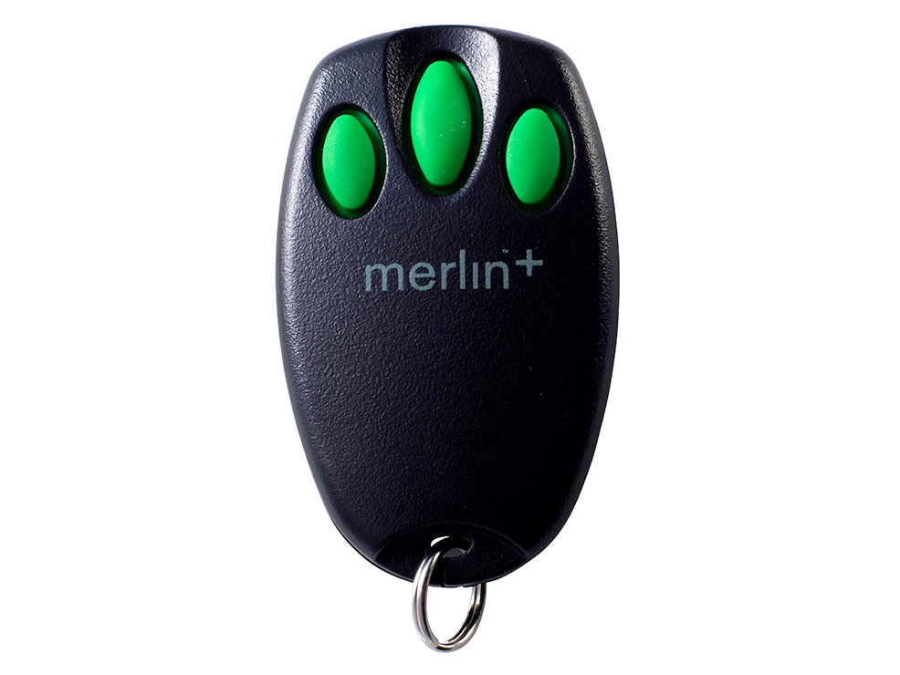 Three Button Mini Remote Control Go Merlin