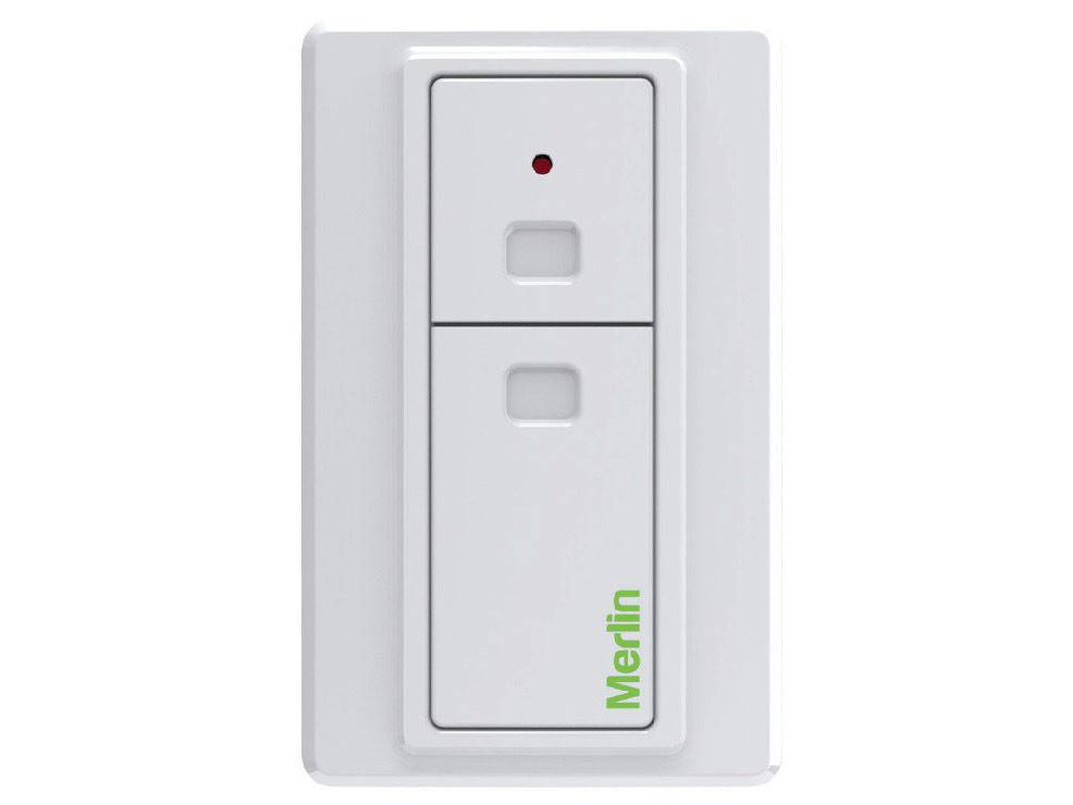 Two Button Wireless Wall Button